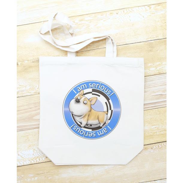犬のコーギーさんのイラスト01のバッグ トートバッグ レディース ショルダーバッグ 鞄 肩掛け トート ネコポス可|moevi