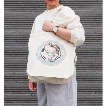 犬のシーズーさんのイラスト01のバッグ トートバッグ レディース ショルダーバッグ 鞄 肩掛け トート ネコポス可|moevi|04