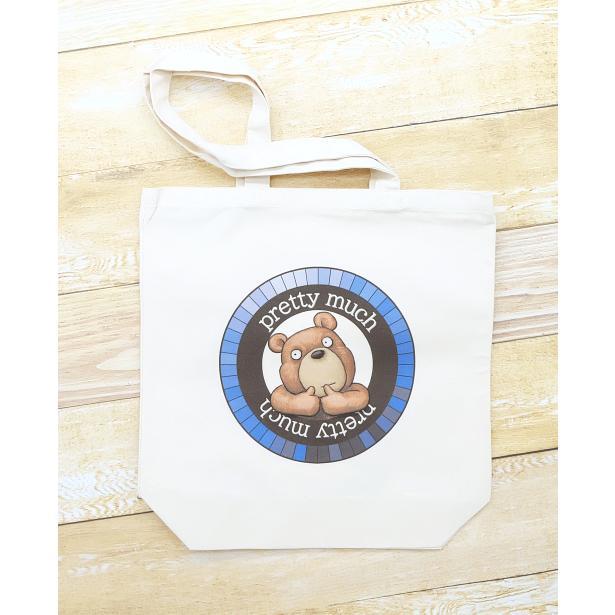 クマさんのイラスト01のバッグ トートバッグ レディース ショルダーバッグ 鞄 肩掛け トート ネコポス可 moevi