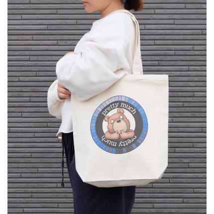 クマさんのイラスト01のバッグ トートバッグ レディース ショルダーバッグ 鞄 肩掛け トート ネコポス可 moevi 03