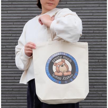 クマさんのイラスト01のバッグ トートバッグ レディース ショルダーバッグ 鞄 肩掛け トート ネコポス可 moevi 04