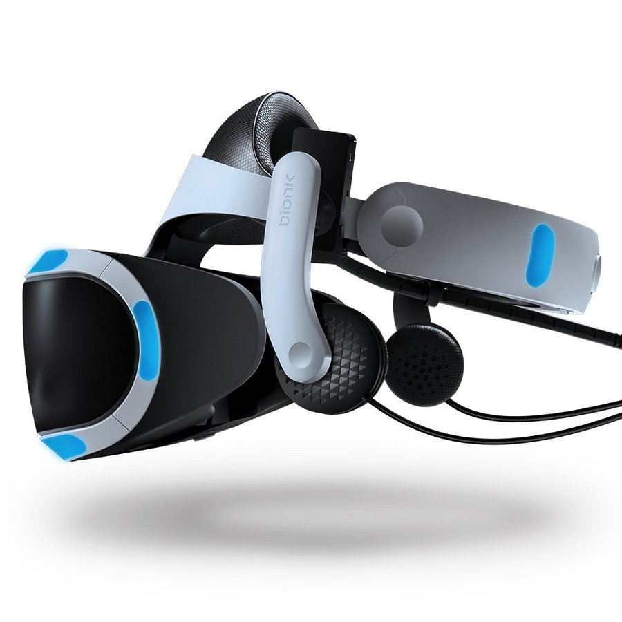 Mantis PS VR・ Lenovo Mirage Solo用ヘッドホン HMD一体型/クリップ式取り付け【国内正規品】 moguravrstore 02