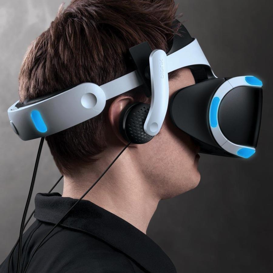 Mantis PS VR・ Lenovo Mirage Solo用ヘッドホン HMD一体型/クリップ式取り付け【国内正規品】 moguravrstore 04