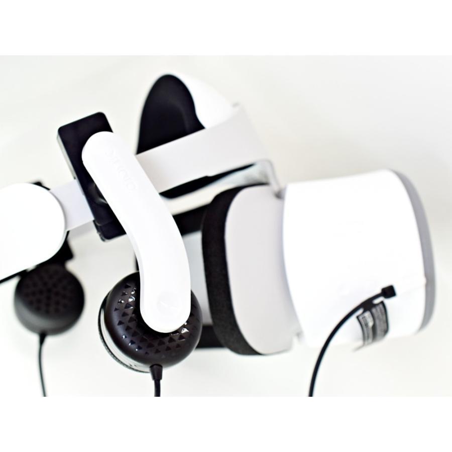 Mantis PS VR・ Lenovo Mirage Solo用ヘッドホン HMD一体型/クリップ式取り付け【国内正規品】 moguravrstore 07