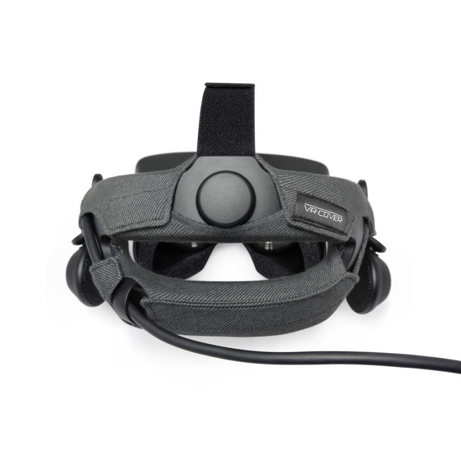 VALVE INDEX用ヘッドストラップカバー(VR Cover)2枚セット 綿100% 洗濯可能 moguravrstore