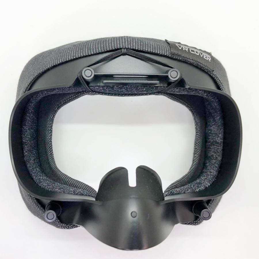 VRカバー Valve Index用 ノーマルタイプ2枚セット 綿100パーセント 洗濯可能|moguravrstore|08