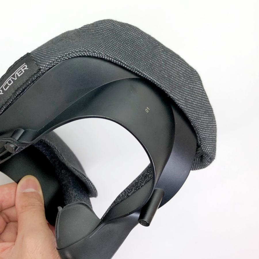 VRカバー Valve Index用 ノーマルタイプ2枚セット 綿100パーセント 洗濯可能|moguravrstore|09
