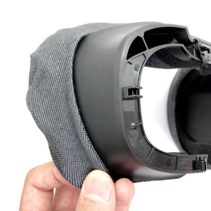 VRカバー Oculus Rift S用 ノーマルタイプ2枚セット 綿100パーセント 洗濯可能|moguravrstore|06