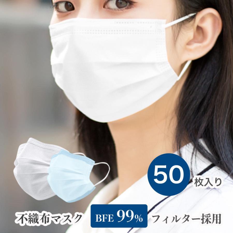 50 マスク 定価 枚 いくら