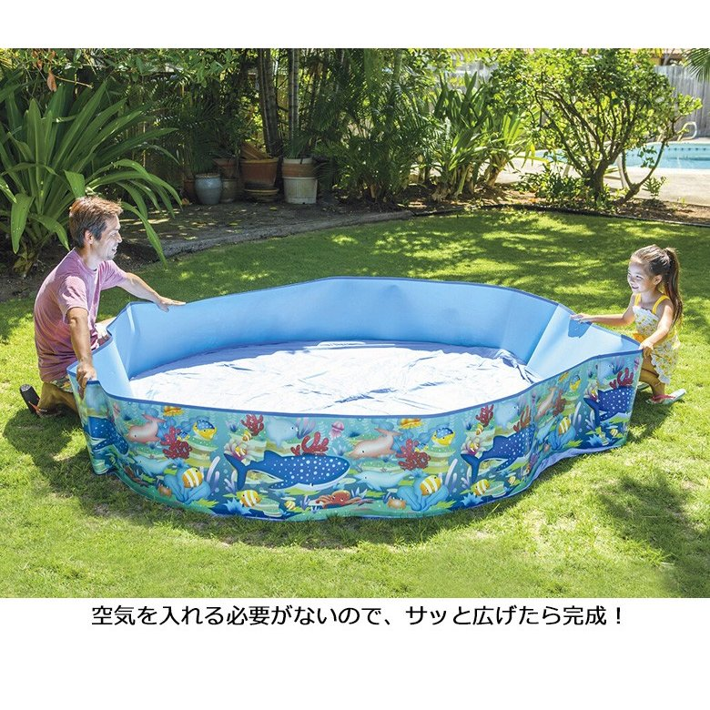 ない 入れ プール を 空気