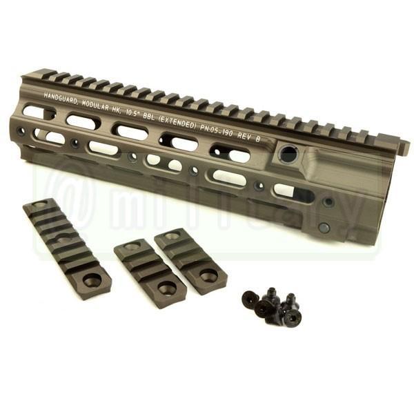 AD HK416用 GEISSELE タイプ SMR 10.5インチ ハンドガード DE  マルイ次世代HK416対応