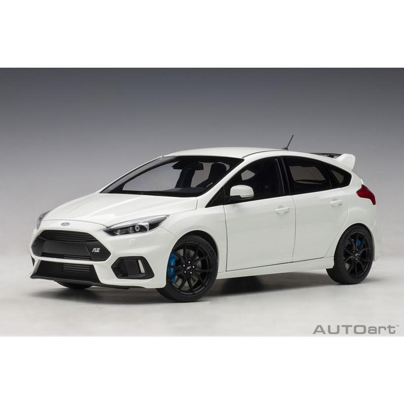 オートアート 72951 1/18 フォード フォーカス RS (ホワイト) ≪コンポジットモデル≫