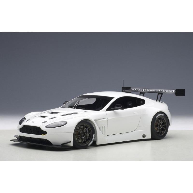 オートアート【81307】1/18 アストンマーチン V12 ヴァンテージ GT3 2013 (ホワイト) コンポジットモデル
