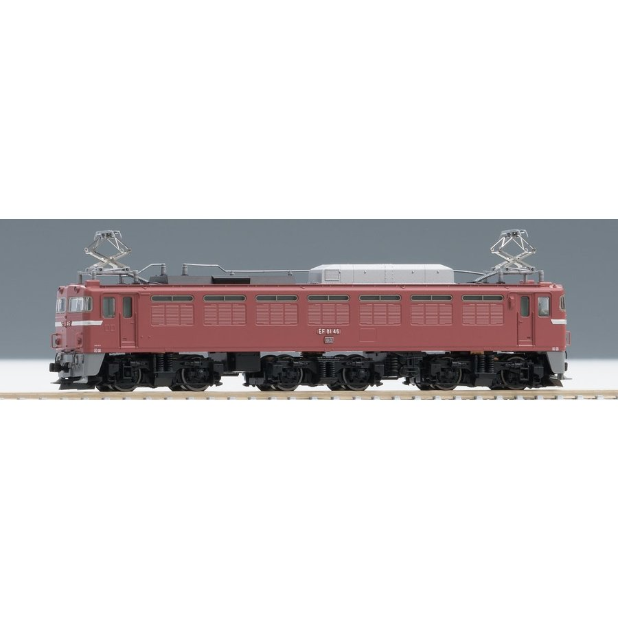 TOMIX (トミックス) 7121 [N] 国鉄 EF81形電気機関車 (ローズ)