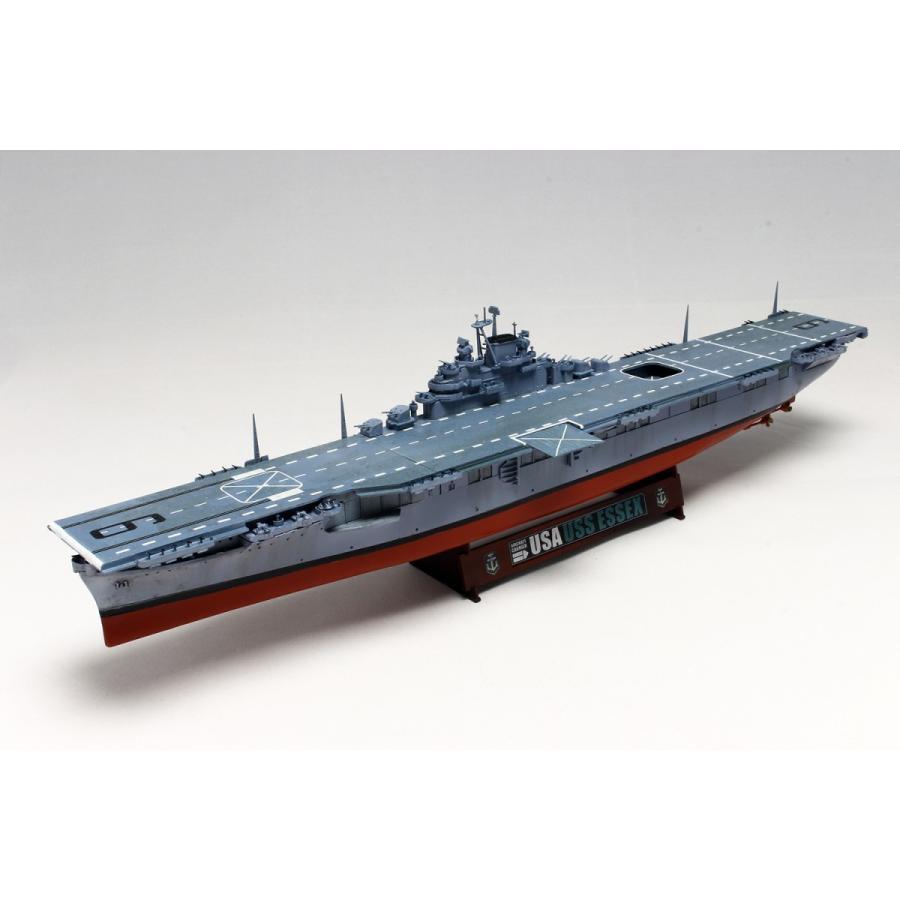 プラッツ  1/700 World of Warships アメリカ海軍 航空母艦 エセックス【WOT49503】