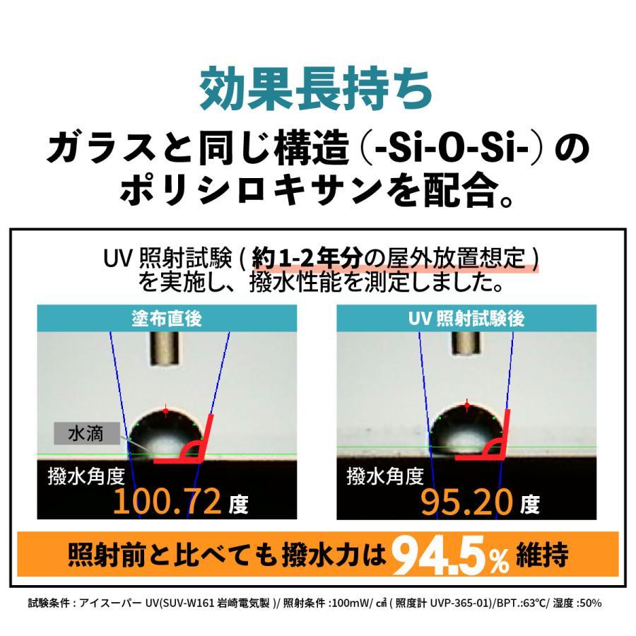 コーティング剤 車 ガラス系 日本製 2本セット 最大12ヶ月 撥水 最強 クロス スポンジ付き 簡単施工 60ml ボディ 超撥水 樹脂 ホイール レジェンド|mokku-shop|05