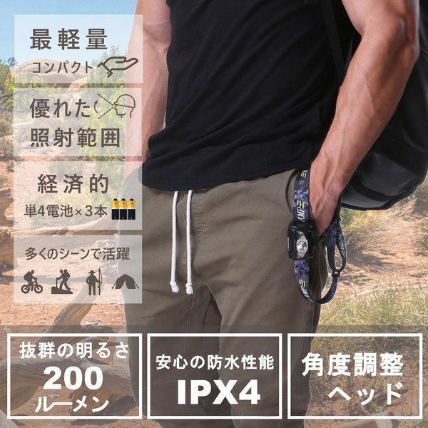 ヘッドライト 防水 登山 釣り キャンプ 防災 災害対策 LEDヘッドライト ヘッドランプ 懐中電灯 LEDヘッドライト 作業用ledヘッドライト 超強力 moko2 04