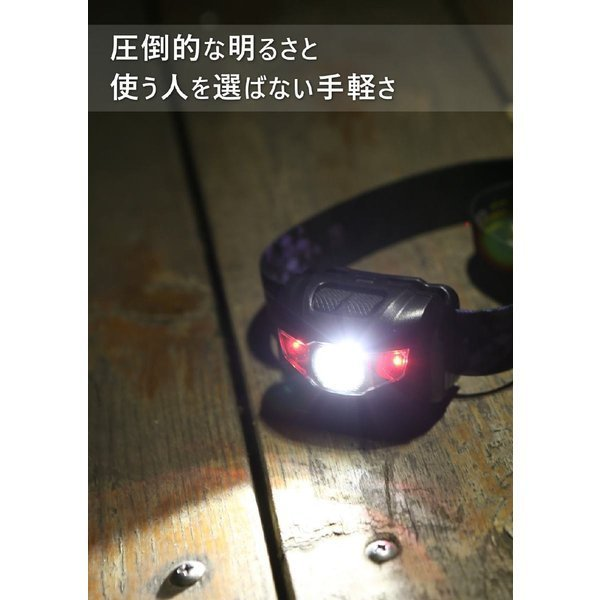 ヘッドライト 防水 登山 釣り キャンプ 防災 災害対策 LEDヘッドライト ヘッドランプ 懐中電灯 LEDヘッドライト 作業用ledヘッドライト 超強力 moko2 05