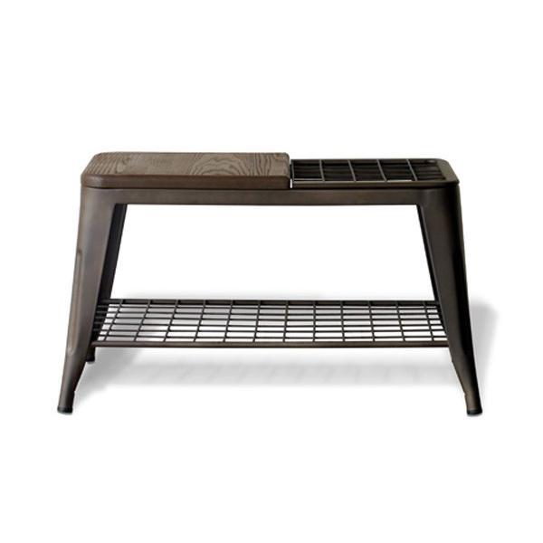 ベンチ 傘立て アンブレラスタンド 玄関先収納 椅子 1281|moku-moku|11