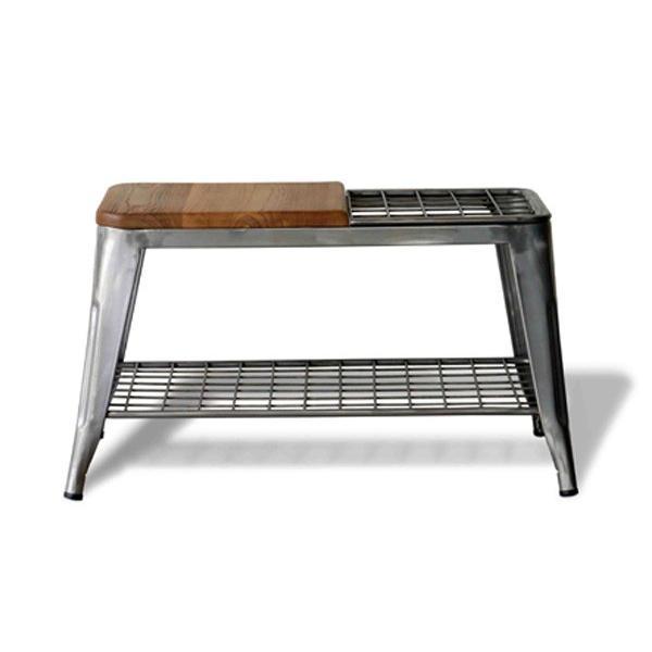 ベンチ 傘立て アンブレラスタンド 玄関先収納 椅子 1281|moku-moku|12