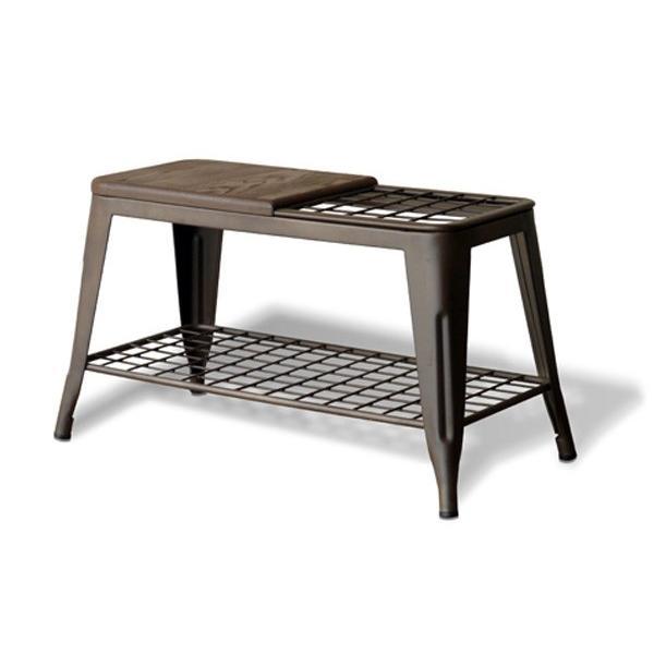ベンチ 傘立て アンブレラスタンド 玄関先収納 椅子 1281|moku-moku|13
