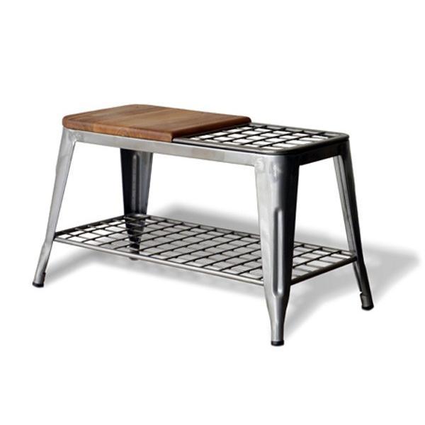 ベンチ 傘立て アンブレラスタンド 玄関先収納 椅子 1281|moku-moku|14