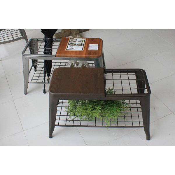 ベンチ 傘立て アンブレラスタンド 玄関先収納 椅子 1281|moku-moku|10