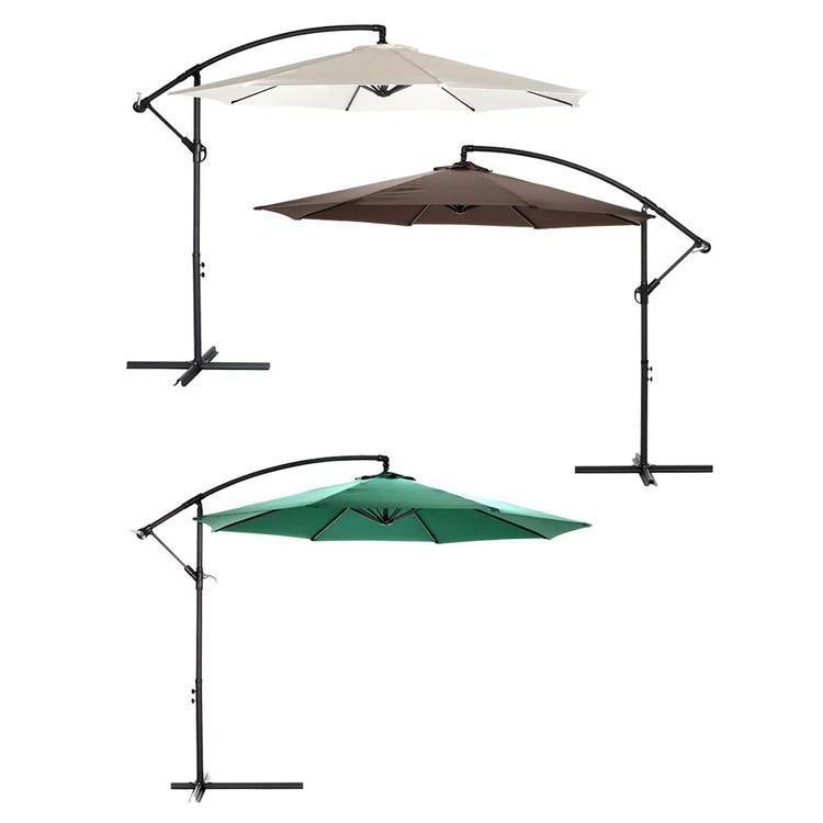 ガーデンパラソル ハンギングパラソル 傘φ300cm 吊る 日除け ビーチパラソル モダン