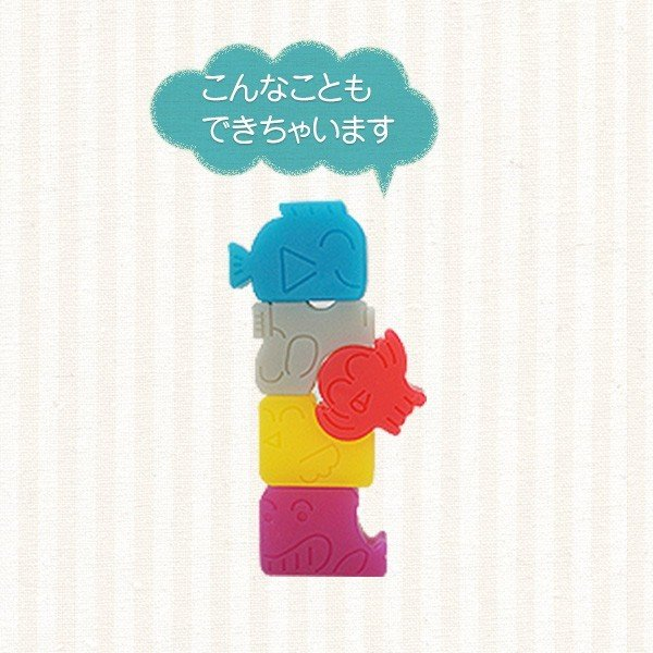 アニマルつみきパズル|mom-shop|04