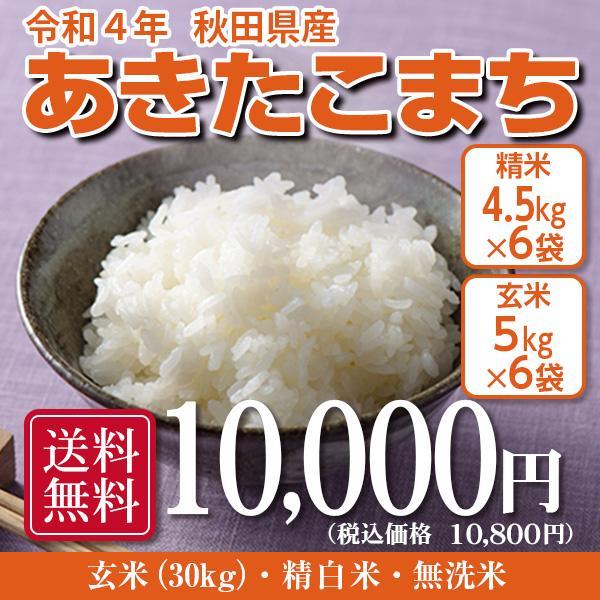 米 お米 30kg 秋田県産 あきたこまち 5kg×6袋 海外 令和2年産 セール商品