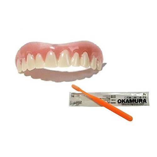 インスタントスマイル 上歯用 出群 Sサイズ + 限定セット 歯科医推奨歯ブラシ OKAMURA 2020新作