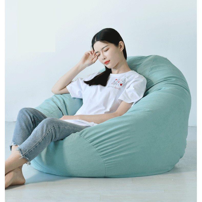 怠惰なソファカバー クッション おしゃれ 背もたれ 人をダメにする 人をダメにしない セール 軽量 レザー 合皮 布地 ソファー コンパクト ビーズ いつでも送料無料 座椅子