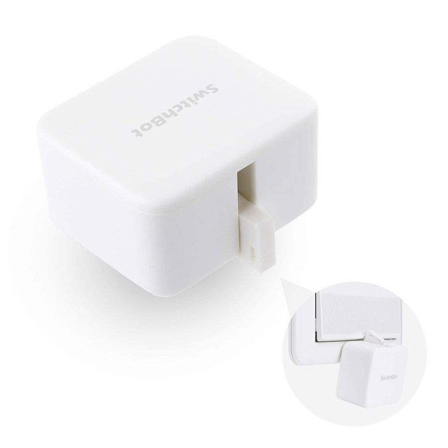 SwitchBot スイッチボット スイッチ ボタンに適用 指ロボット スマートホ ーム ワイヤレス タイマー スマホで遠隔操作 アレクサ、Google home、 HomePod、IF|momos-shop