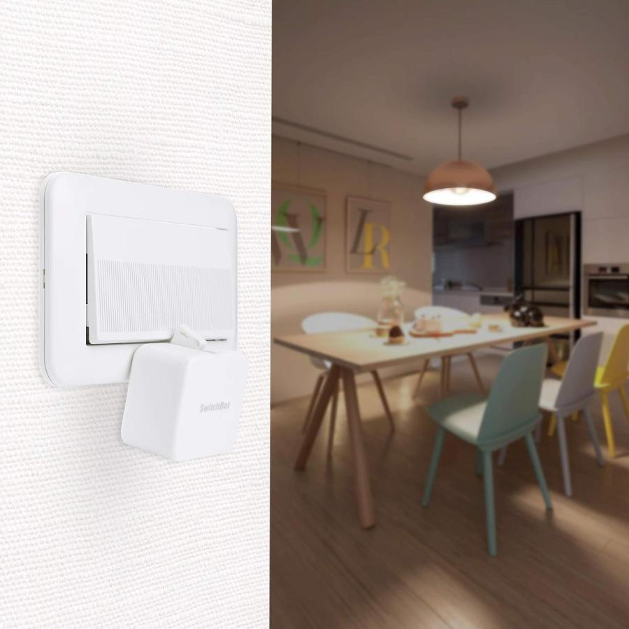 SwitchBot スイッチボット スイッチ ボタンに適用 指ロボット スマートホ ーム ワイヤレス タイマー スマホで遠隔操作 アレクサ、Google home、 HomePod、IF|momos-shop|03
