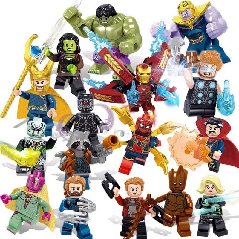レゴブロック LEGO レゴミニフィグ アベンジャーズ プレゼント 互換品 16体セット 送料無料でお届けします オープニング 大放出セール