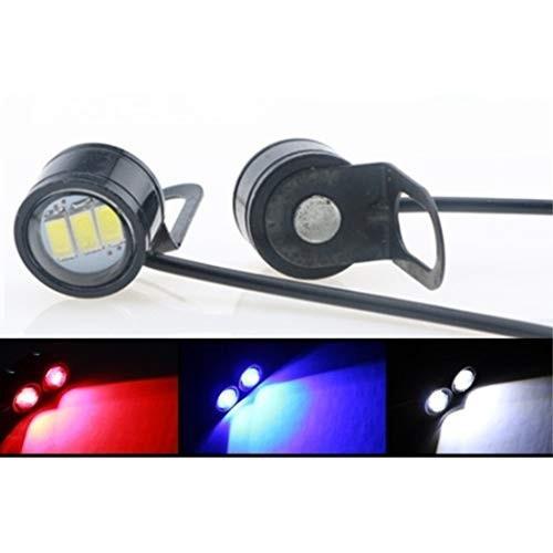 バイク ミラーマウント ランプ 12V イーグル 公式サイト アイ LED ペアライト フォグ 青 公式通販 DRL フラッシュ 白