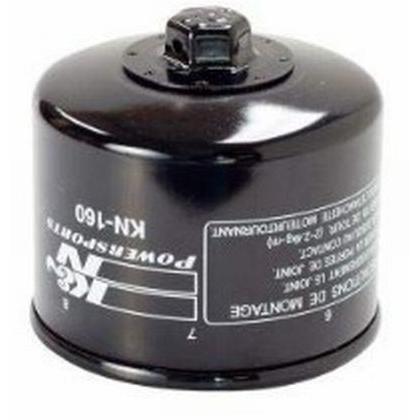 K Seasonal Wrap入荷 N ケーアンドエヌ KN-160 Oil オイルフィルター 定価の67%OFF Filter