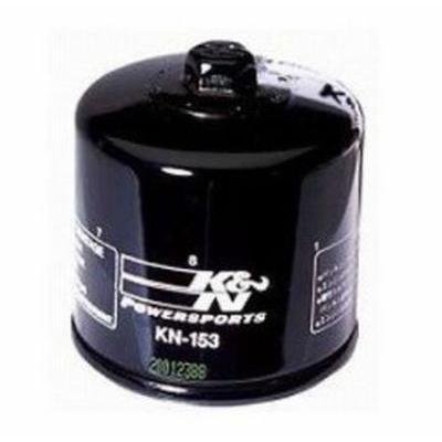 定番の人気シリーズPOINT(ポイント)入荷 Kamp;N KN-153 オイルフィルター ブラック DUCATI 絶品