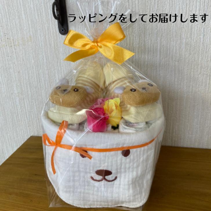 NEW!!!出産祝い**ハニーぱんだ**男の子おむつケーキ** 女の子おむつケーキ・オムツケーキ ・ダイパーケーキ・出産祝い・ベビースタイ|monkeypanda333|04