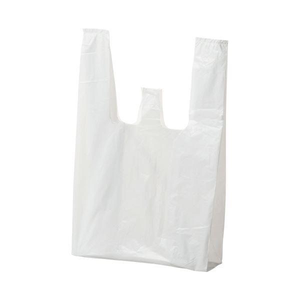 (まとめ) ジャパックス ランチバッグ エコタイプ小 乳白 RBF12 1パック(100枚) 〔×50セット〕