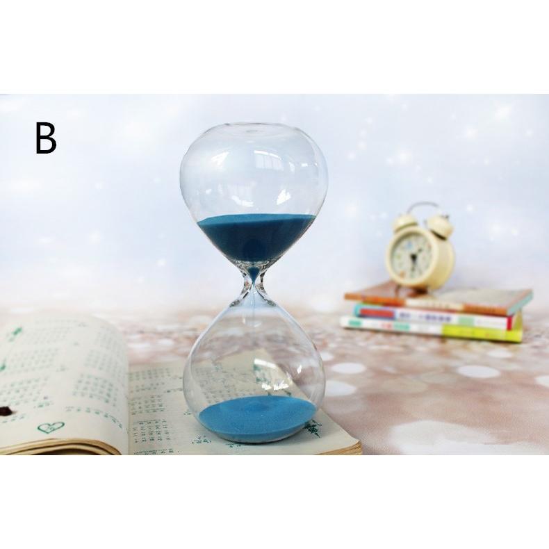 送料無料 砂時計 60分 ガラス インテリア ギフト プレゼント 上質 気品(19112812)|mono-m|02