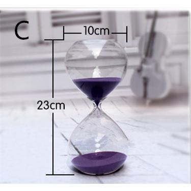 送料無料 砂時計 60分 ガラス インテリア ギフト プレゼント 上質 気品(19112812)|mono-m|03
