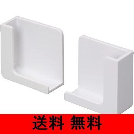 東和産業 浴室用ラック ホワイト 約5×2.3×5cm 磁着SQ バススマートフォンホルダー 39200|mono-store