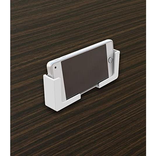 東和産業 浴室用ラック ホワイト 約5×2.3×5cm 磁着SQ バススマートフォンホルダー 39200|mono-store|03