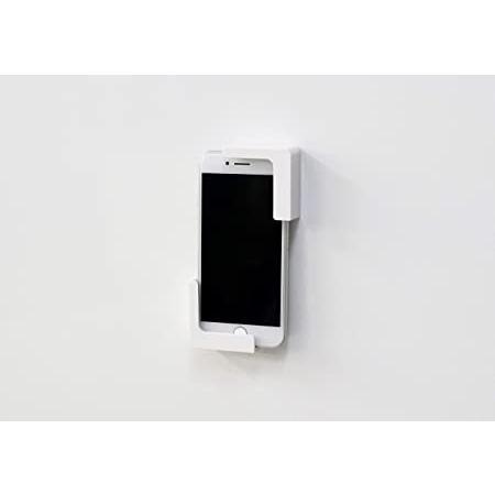 東和産業 浴室用ラック ホワイト 約5×2.3×5cm 磁着SQ バススマートフォンホルダー 39200|mono-store|06