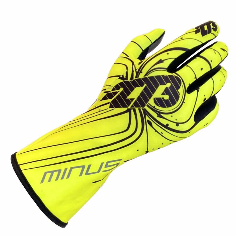 -273 Zero Yellow 新品■送料無料■ Karting Glove イエロー 再販ご予約限定送料無料 レーシングカートグローブ ゼロ マイナス273