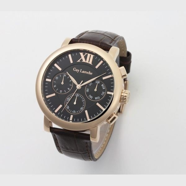 華麗 Guy Laroche(ギラロッシュ) 腕時計 GS1402-05, 学校教材ネットショップ b6a66da7