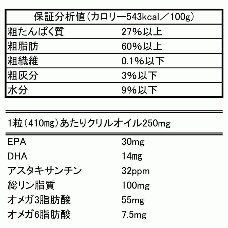 【本日ポイント12倍】犬 猫 ペット EPA DHA サプリメント サプリ ひざ 関節 心血管 脳 健康維持 抗酸化 オメガ3 クリルオイル 30粒|monolith-net|17