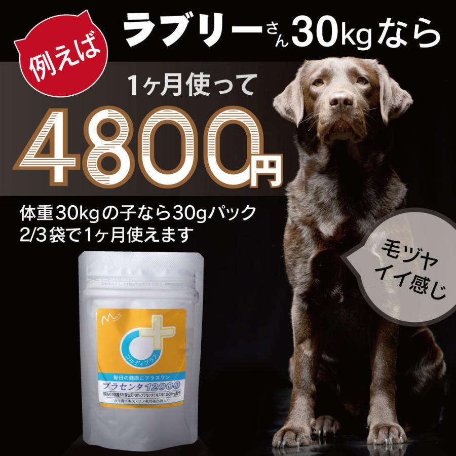 犬猫の健康を維持し、肝臓と皮膚を守るサプリ (別途送料で)あすつく可<プラセンタ12000(30g)> monolith-net 12