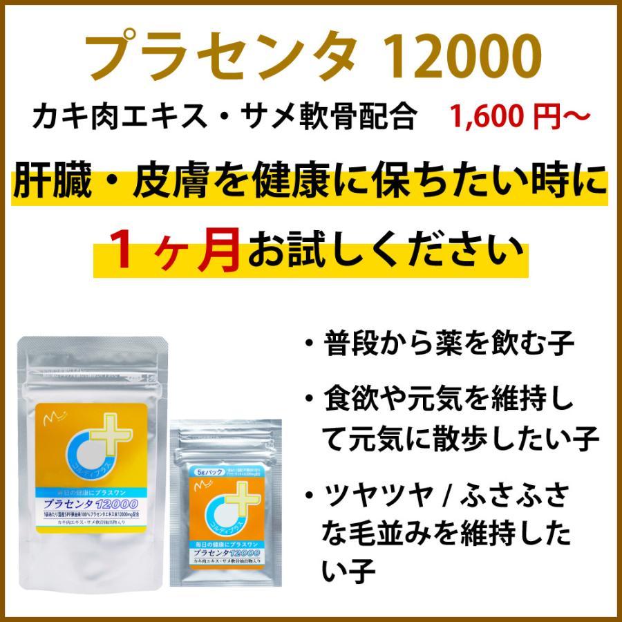 犬猫の健康を維持し、肝臓と皮膚を守るサプリ (別途送料で)あすつく可<プラセンタ12000(30g)> monolith-net 04